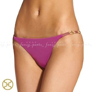 VIX Tulip Laura Bikini Bottom NEW Bead Rope Twist